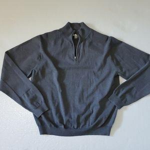 Cutter & Buck Mens Pullover quarter zip sweater